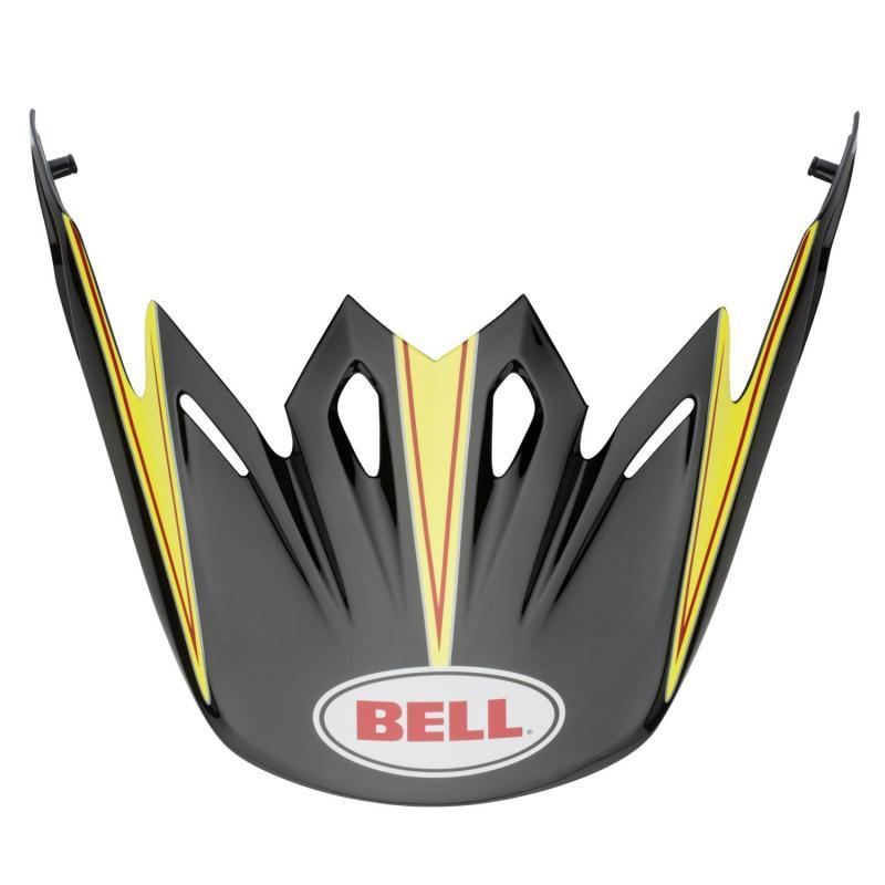 Visière Bell Moto-9/Moto-9 Flex Emblem Hot Yellow