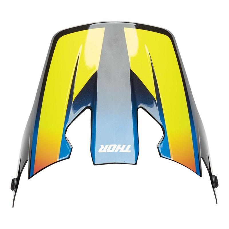 Visière casque cross Thor Reflex Accel multicolore