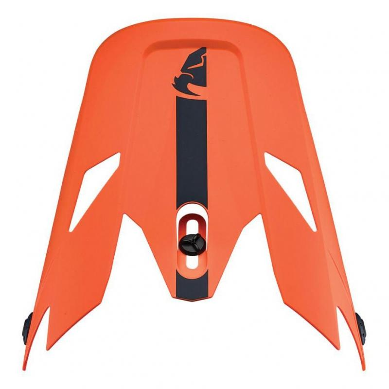Visière casque cross Thor Sector Racer orange/midnight