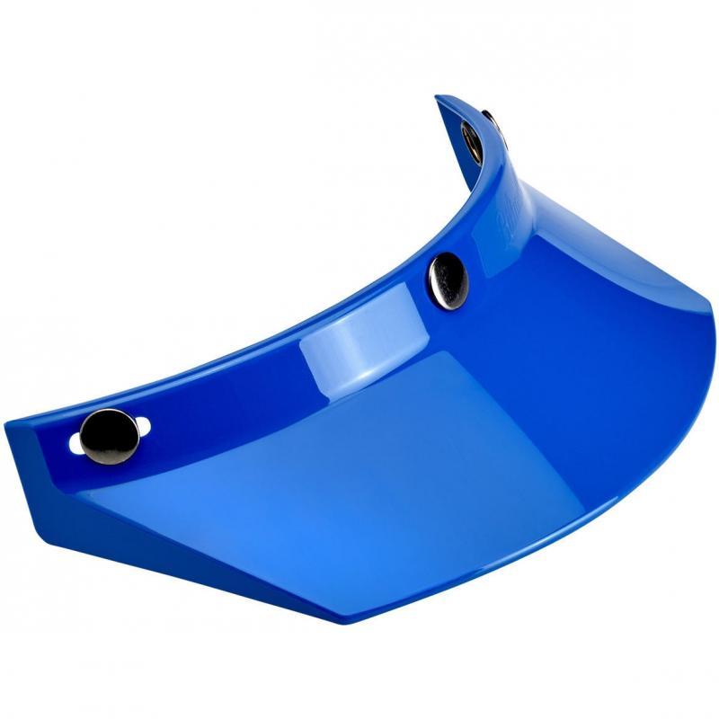 Visière de casque Biltwell à 3 pressions bleu