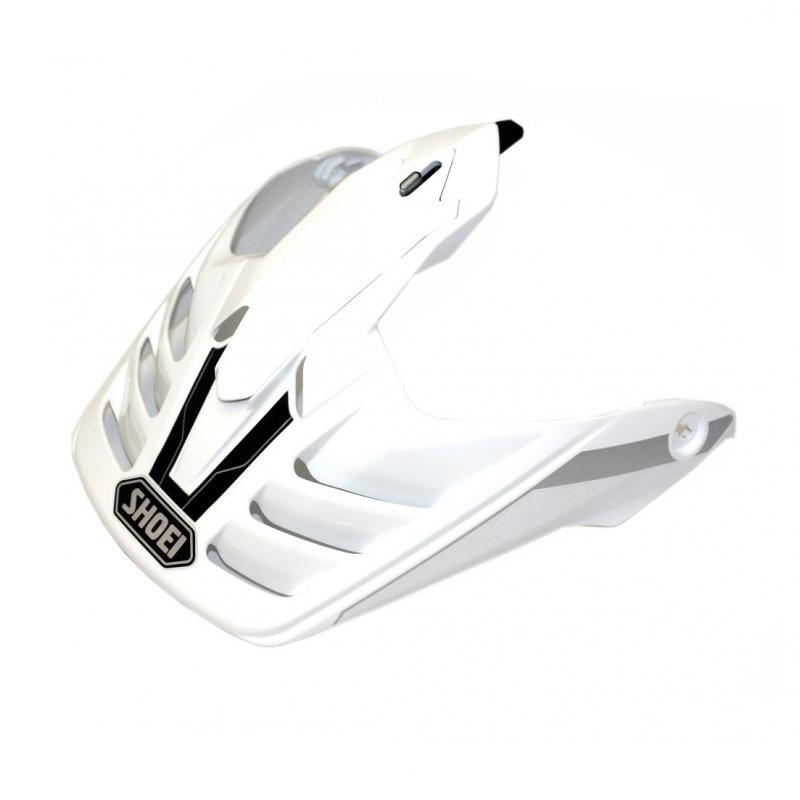 Visière de casque Shoei Hornet ADV Seeker TC6 blanc/noir