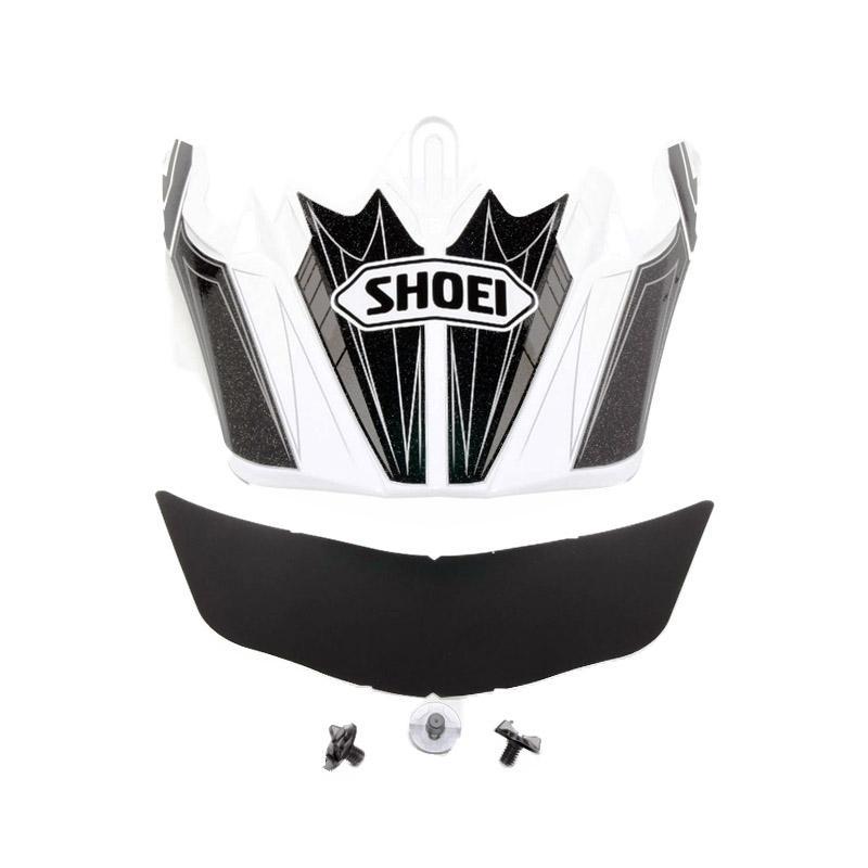 Visière de casque Shoei VFX-W Dash TC6 noir/blanc
