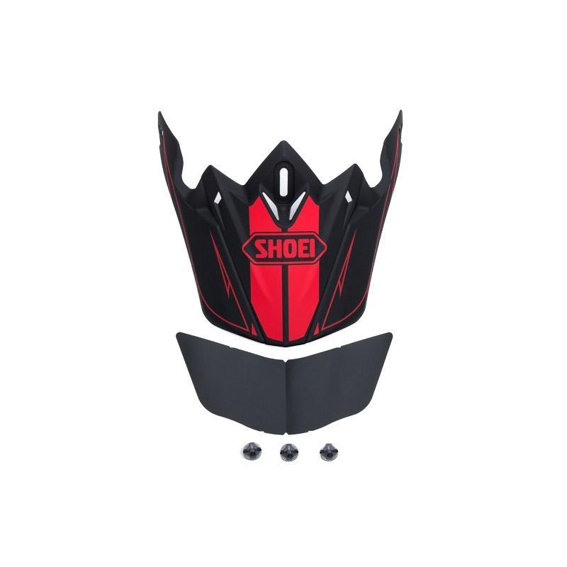 Visière de casque Shoei VFX-W Hectic TC1 noir/rouge