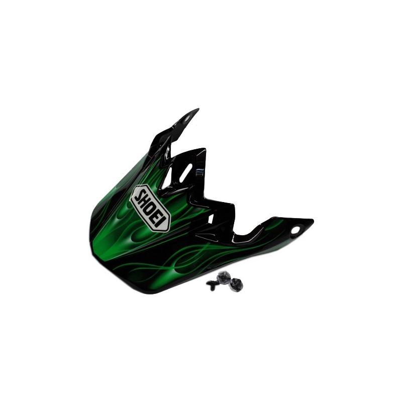 Visière de casque Shoei VFX-W Josh Grant TC4 noir/vert