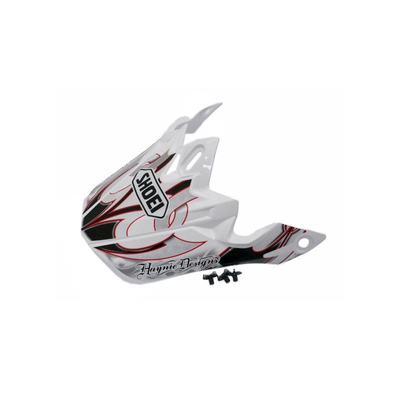 Visière de casque Shoei VFX-W K-Dub 3 TC1 noir/blanc/rouge