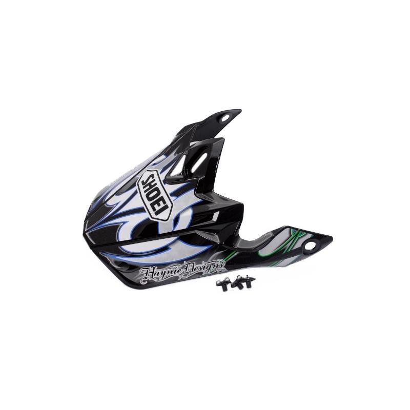Visière de casque Shoei VFX-W K-Dub 3 TC10 noir/blanc/bleu/vert