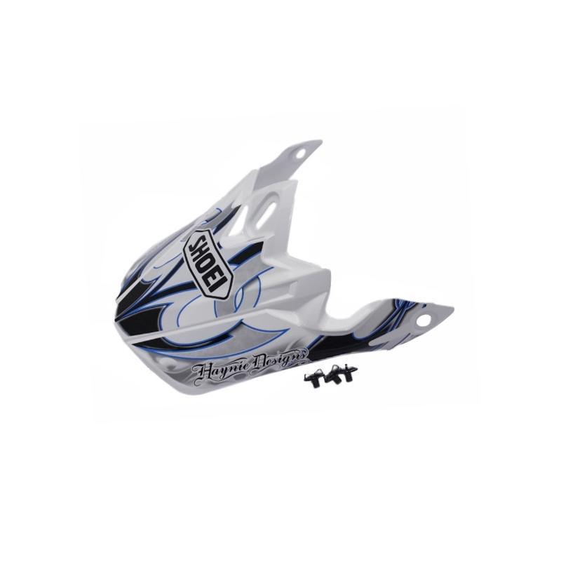 Visière de casque Shoei VFX-W K-Dub 3 TC2 noir/blanc/bleu