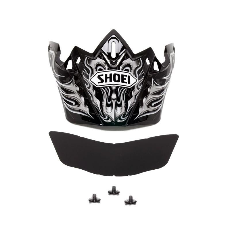 Visière de casque Shoei VFX-W Scimitar TC5 noir/blanc