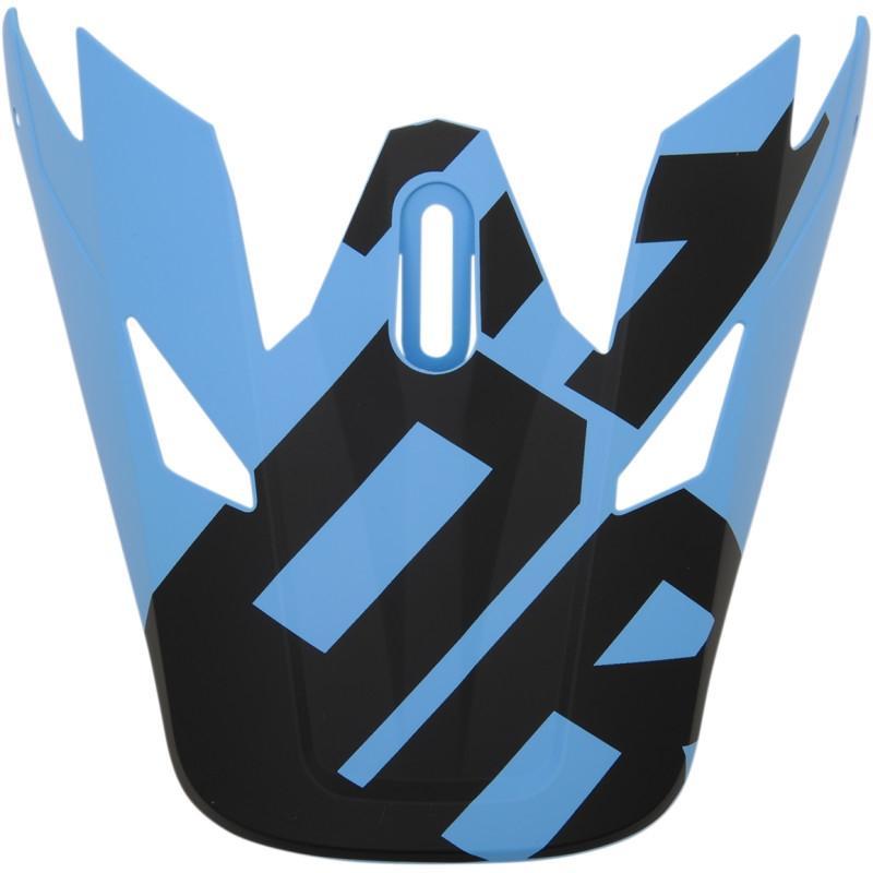 Visière de casque Thor Sector Level noir/bleu