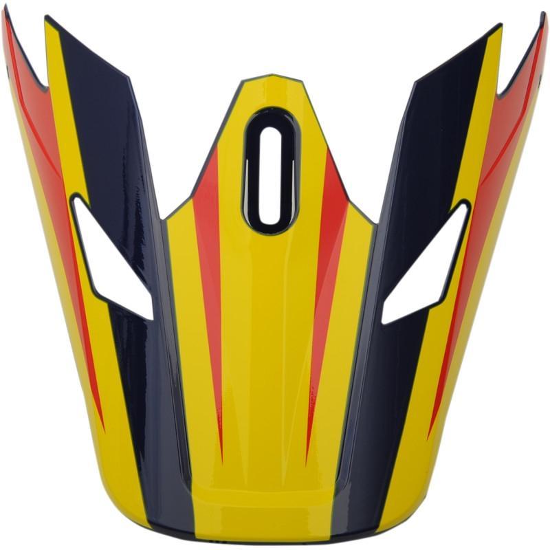 Visière de casque Thor Sector Ricochet navy/jaune