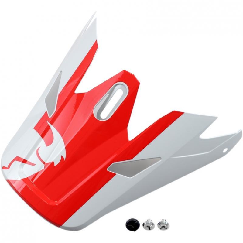 Visière de casque Thor Sector Shear rouge/gris clair