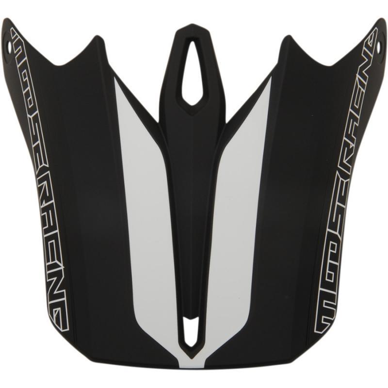 Visière pour casque Moose Racing FI Session noir/blanc