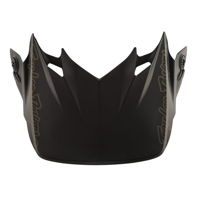 Visière Troy Lee Designs pour casque SE4 Mono polyacrylite noir