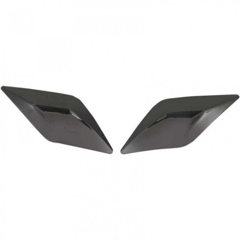 Volets de ventilations frontale Icon pour casque Airflite noir brillant
