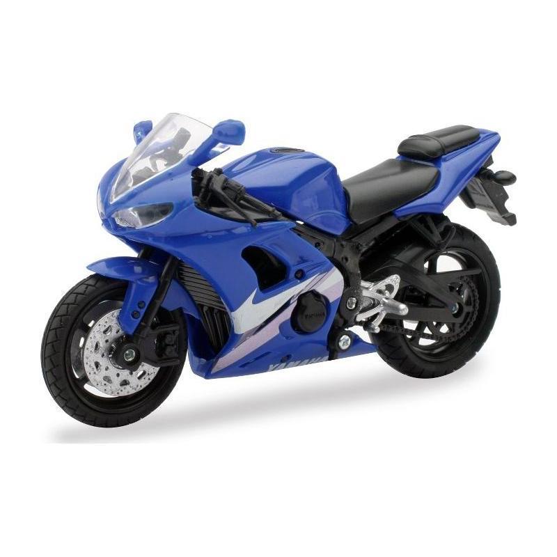 Yamaha route bleu 1:18 NewRay bleu