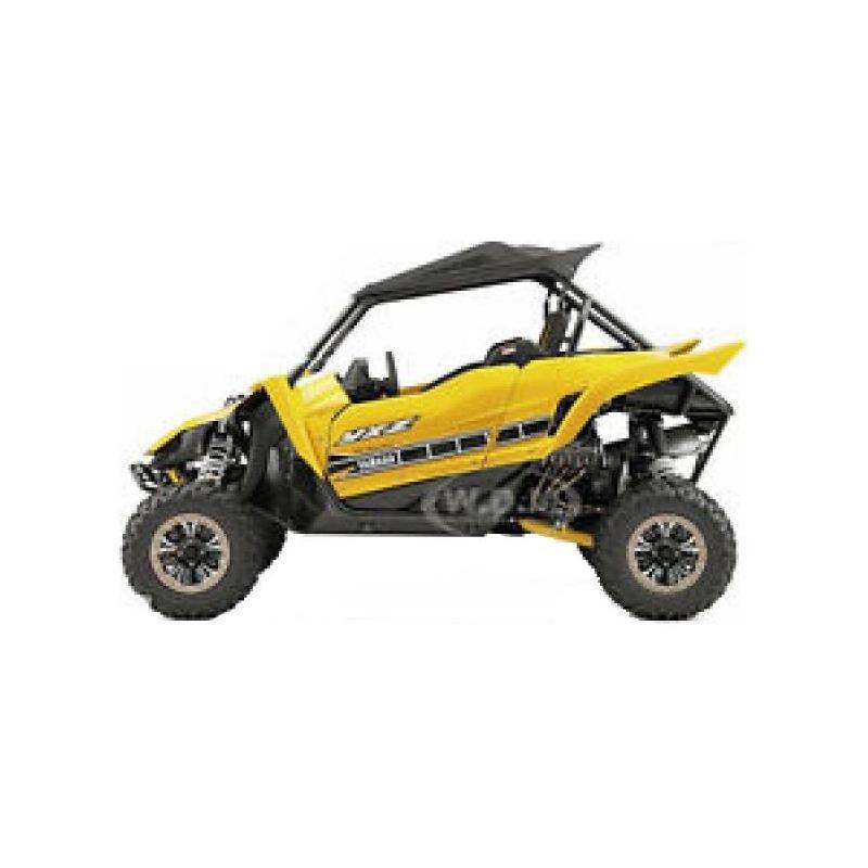 Yamaha SSV YXZ 1000 R Jaune 1:18 NewRay jaune/blanc