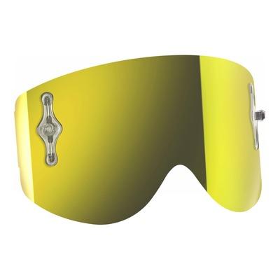 Écran Works Scott pour masque Recoil et 80 chrome jaune