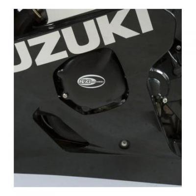 Kit couvre carter moteur R&G Racing noir Suzuki GSX-R 600/750 04-05