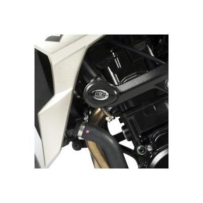 Tampons de protection R&G Racing Aero noir Suzuki GSR 750 11-16