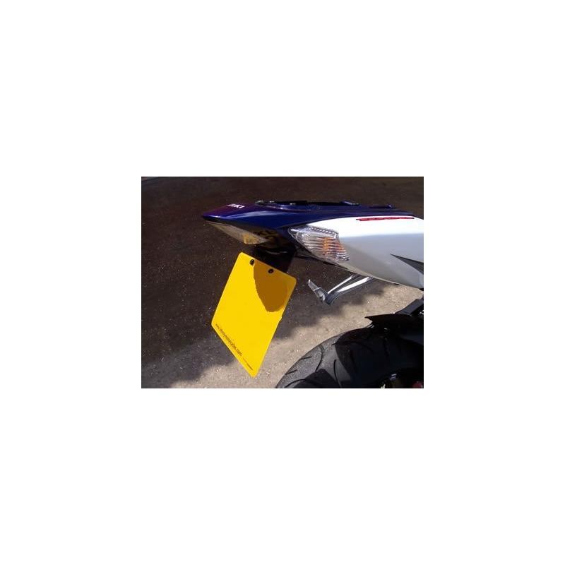 Support de plaque d'immatriculation R&G Racing noir Suzuki GSX-R 1000 05-06