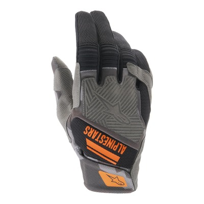Gants enduro Alpinestars Venture R noir/camouflage/orange