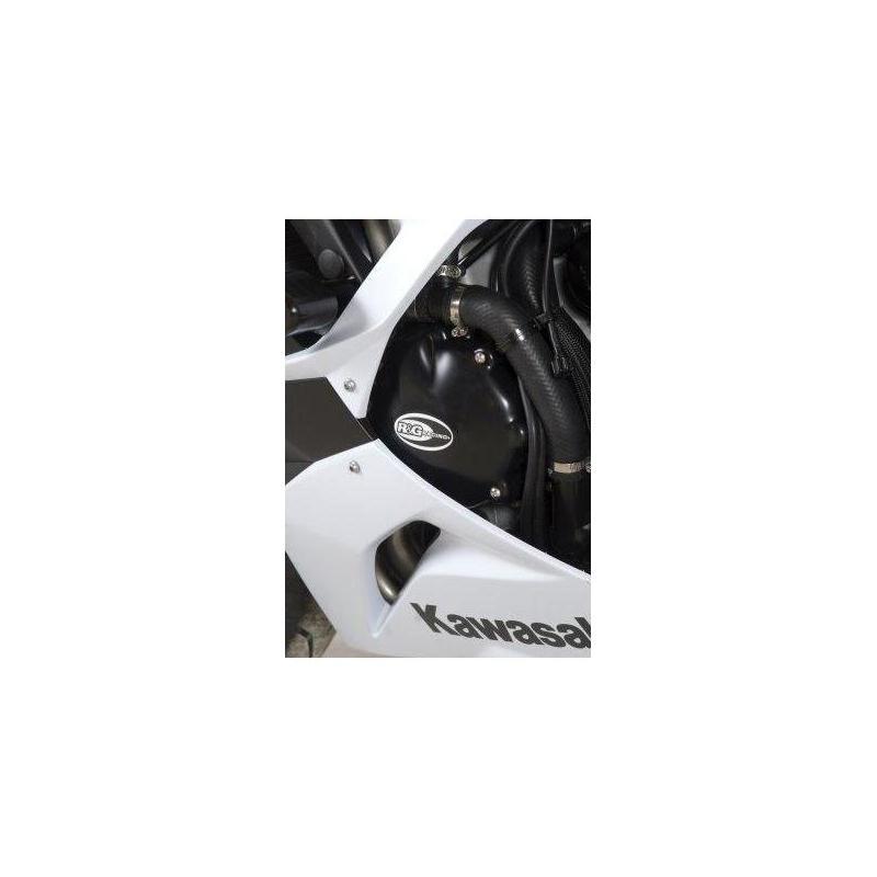 Couvre carter d'alternateur R&G Racing noir Kawasaki ZX-6R 09-17
