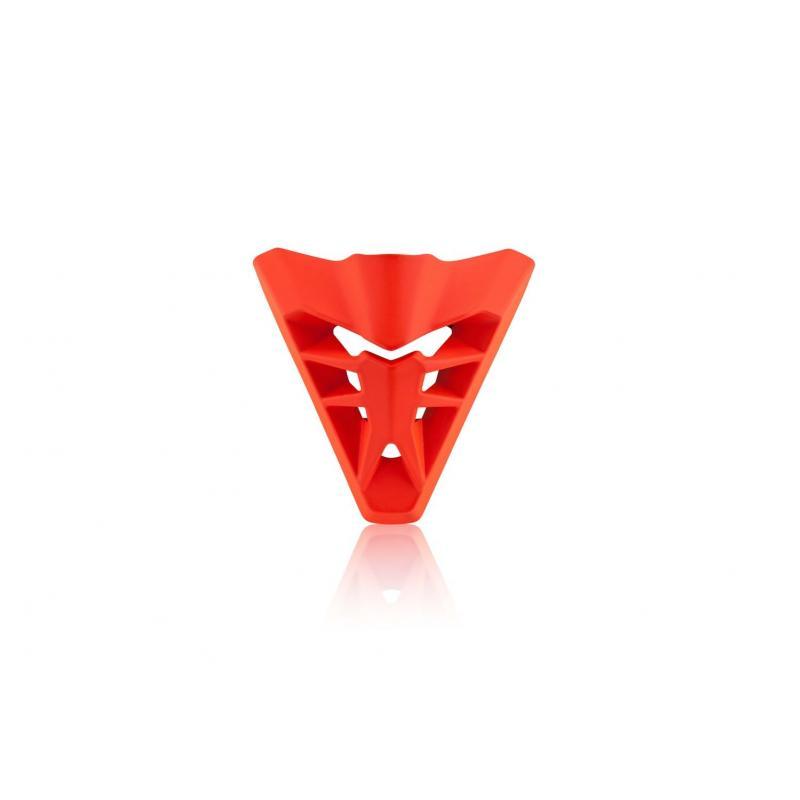 Ventilation avant Acerbis pour casque Profile 3.0 orange mat