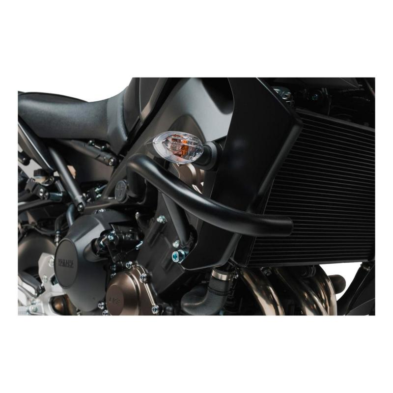 Barres de protection latérale SW-MOTECH noir Yamaha MT-09 17-