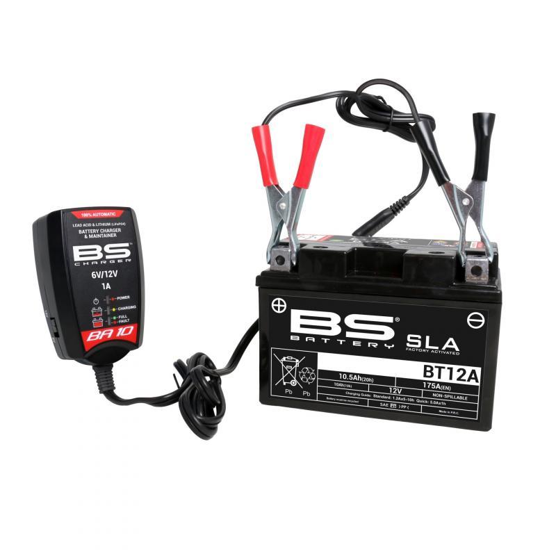 Chargeur BS Battery BA10 6V / 12V - 4