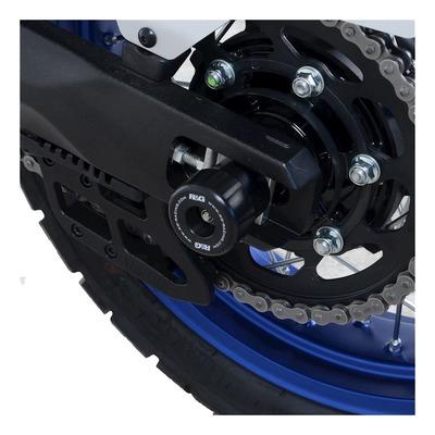 Tampons de bras oscillant R&G Racing noir Yamaha Ténéré 700 19-21