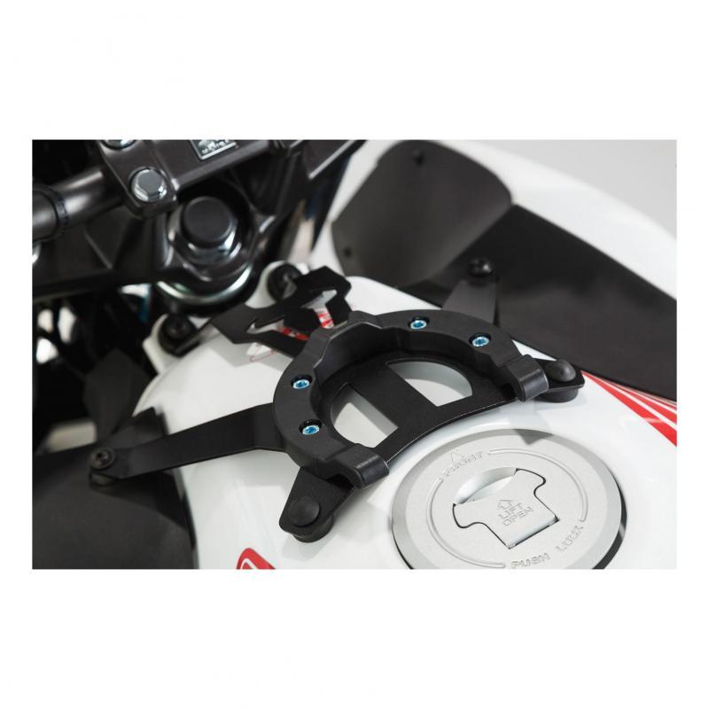 Bride de fixation réservoir SW-MOTECH ION noir Honda CB 500 F 13-