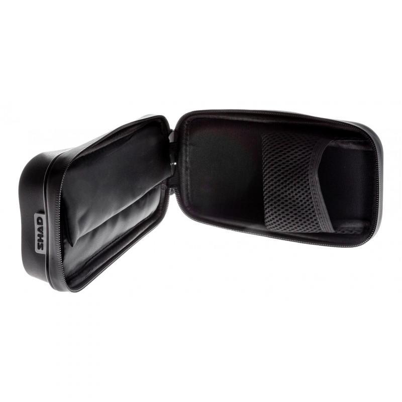 Support de smartphone avec poche Shad 6,6'', 180x90mm (fixation rétroviseur) - 8