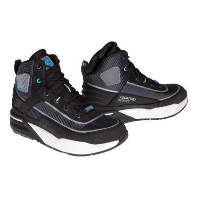 Baskets moto V'Quattro Arrow noir/bleu/blanc