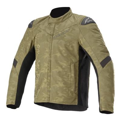 Blouson textile Alpinestars T-SP-5 Rideknit military vert/camouflage noir