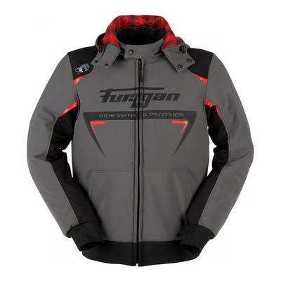 Blouson textile Furygan Sektor Roadster anthracite/noir/rouge