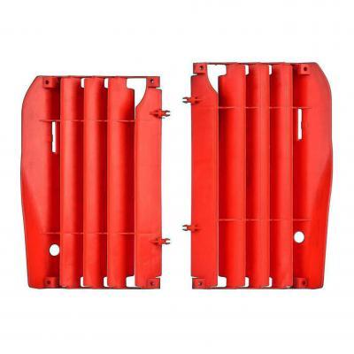 Caches de radiateur Polisport Honda CRF 250R 14-15 rouge
