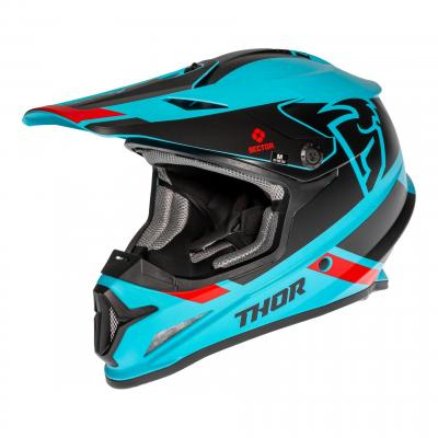 Casque cross Thor Sector Split Mips bleu/noir