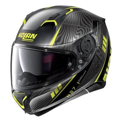 Casque intégral Nolan N87 Sioux N-Com Mat noir/jaune
