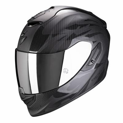 Casque intégral Scorpion EXO-1400 Air Carbon Obscura noir mat/noir brillant