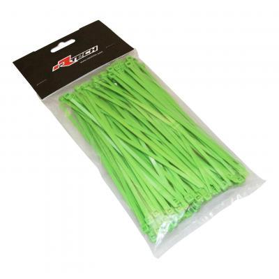 Collier de serrage nylon 3,6x180 mm RTech verts
