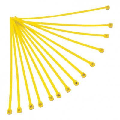 Collier de serrage nylon 4,8x300 mm RTech Jaunes