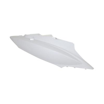 Coque arrière droit blanche brillante adaptable Kymco 50 agility