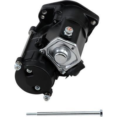 Démarreur électrique Drag Specialties Twin-Cam 99-06 haute performance 1,7 Kw noir