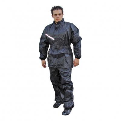 Ensemble veste + pantalon de pluie noir