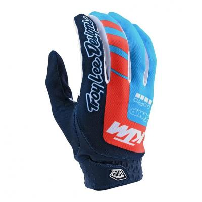 Gants cross Troy Lee Designs Air KTM navy/ocean