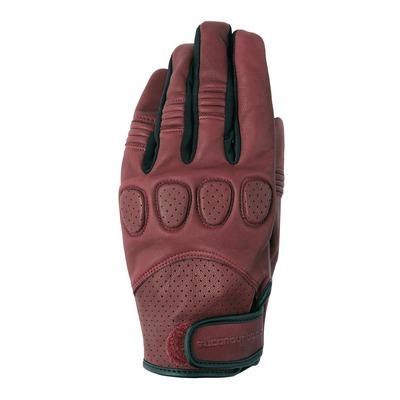 Gants cuir Tucano Urbano Gig Pro burgundy rouge bordeaux