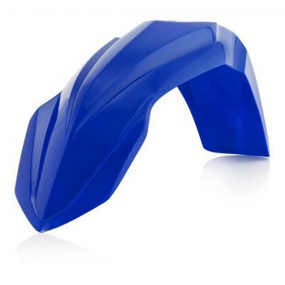 Garde boue-avant Acerbis Yamaha 125 YZ 02-14 bleu (restylé)