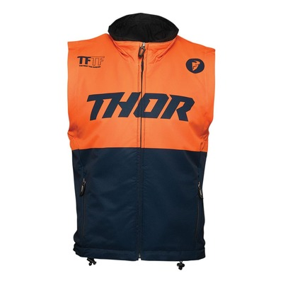 Gilet enduro Thor Warm Up vest midnight/orange