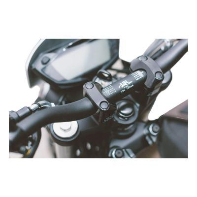 Guidon et pontets SW-MOTECH pour conversion Superbike Ø 28,6 mm