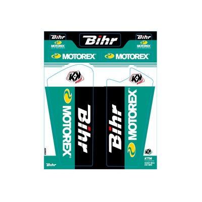 Kit de déco de fourche Kutvek Bihr/Motorex KTM SX-SXF-EXC